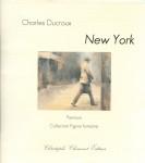 Charles Ducroux, New York, peinture