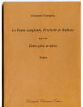 Giancarlo Ciarapica, La Dame Sanglante, Erzebeth de Bathory, suivi de Entre père et mère, théâtre