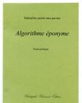 Babouillec autiste sans paroles, Algorithme éponyme, Texte poétique